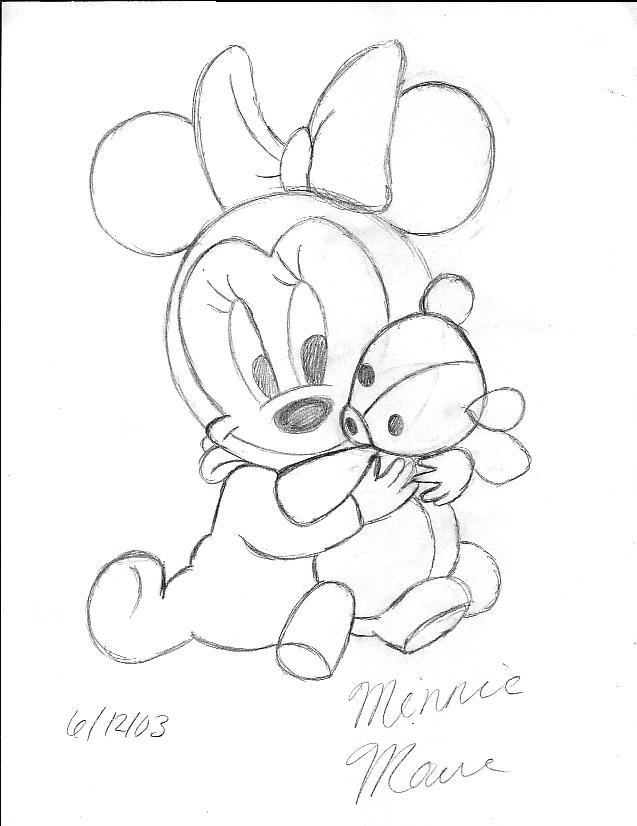 baby minnie mousefoshizzlemynizzle on deviantart