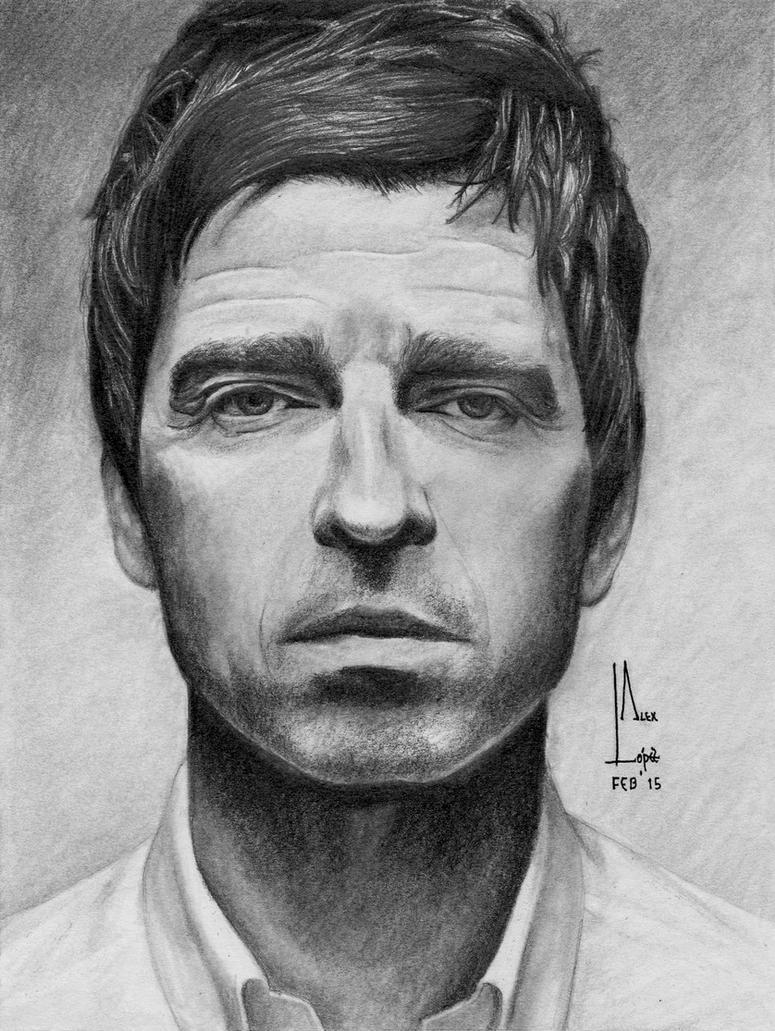 Noel Gallagher - Portrait by SubliminAlex