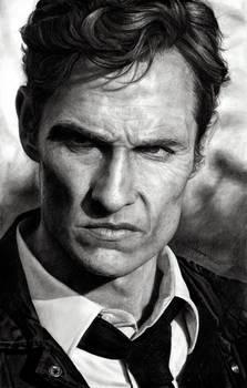 Rust Cohle - Matthew McConaughey in True Detective