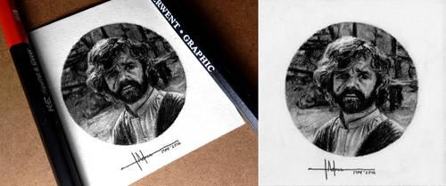 Tyrion Lannister - Miniature Portrait