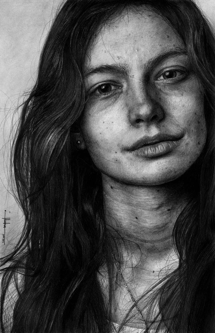 Portrait of a Brunette by SubliminAlex