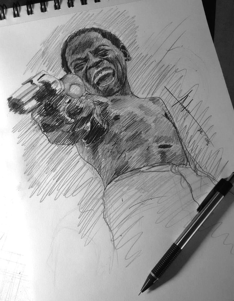 Cidade de Deus (City Of God) Lil' Ze Sketch by SubliminAlex