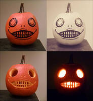 Emil Halloween Pumpkin by MartAnimE