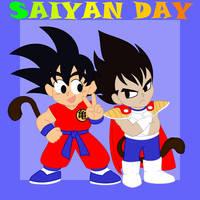 Saiyan Day by MartAnimE