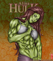 Commission: She Hulk by youtatenshi