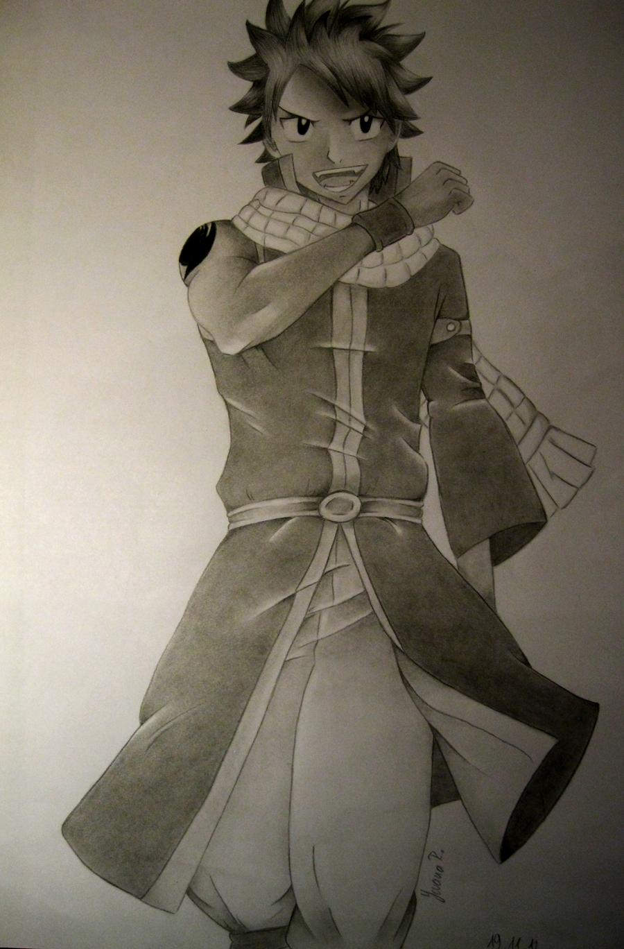 Natsu Dragneel by TrunksJovi