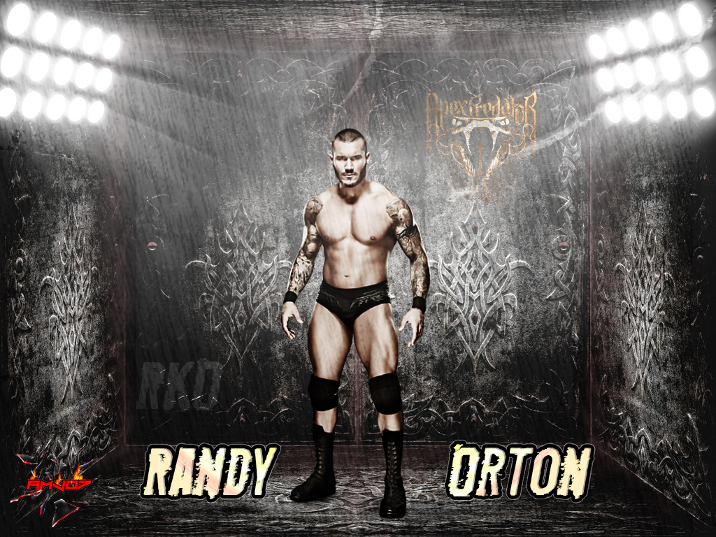 Randy Orton Simple Wallpaper 2013 By AMJ07