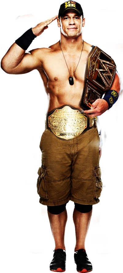 John Cena WWE World Heavyweight Champion By AMJ07