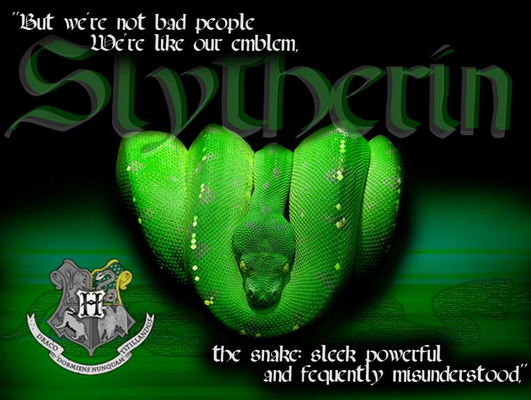 Slytherin The Snake By StormRider93