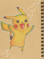 I Choose You, Pikachu! by sketchwithtiff
