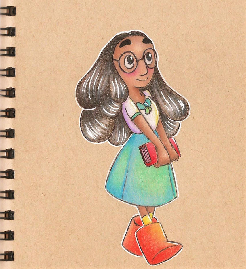 Connie is such a sweetheart. I love the relationship between her and Steven.   My last drawing in my first tan toned sketchbook, which is also the first sketchbook I've ever completed. Bu...