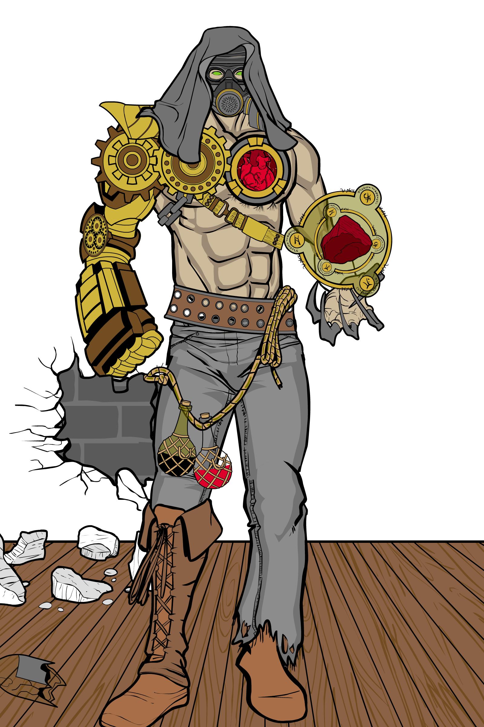 AidanTabby - Steampunk Alchemist by batmanfan911