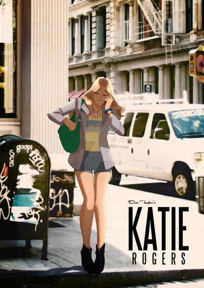 Katie Rogers in Soho,NYC by DESPOP