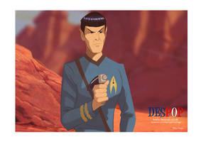 Retro Spock by DESPOP