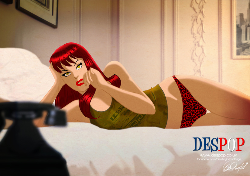 Mary Jane waits... by DESPOP