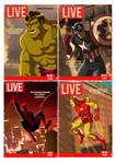LIVE Covers- Marvel Boys
