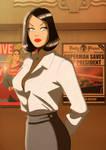 Retro Lois Lane by Des Taylor