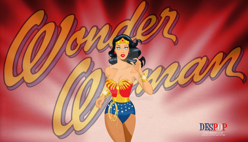 Wonder Woman Lynda Carter style by DESPOP