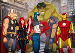 The Avengers by Des Taylor