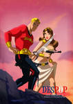 Flash Gordon Art By Des Taylor