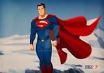 Superman Man Of Steel Style