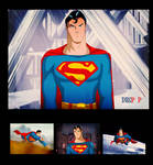 Superman Christopher Reeves Animated by Des Taylor