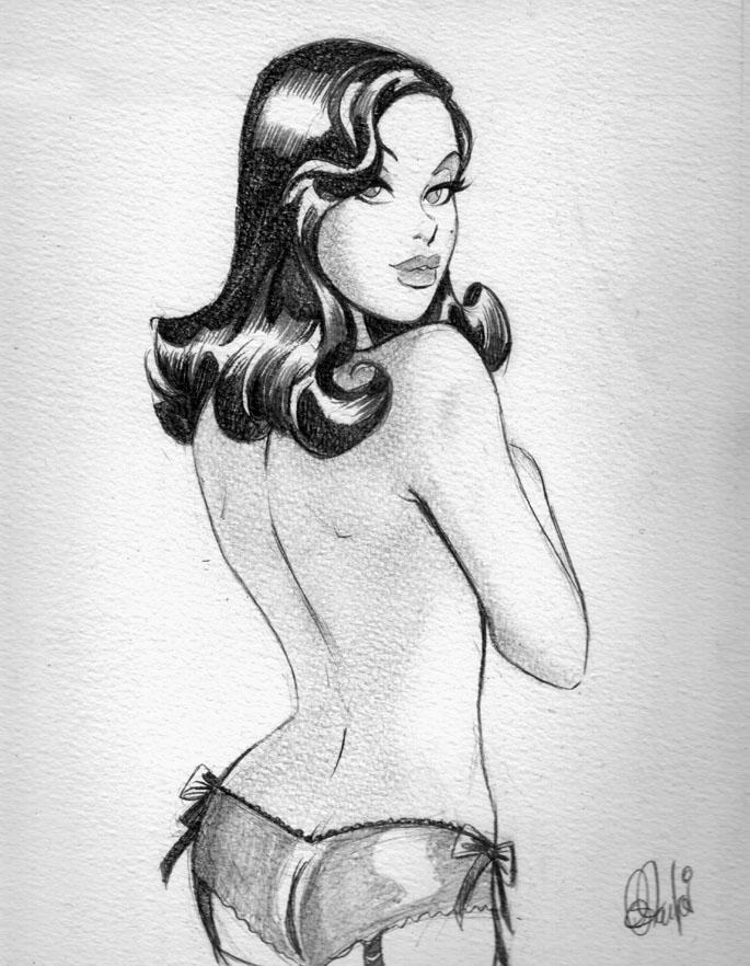 Vesha Valentine sketch by DESPOP