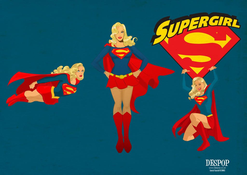 Supergirl ROCKS! by DESPOP