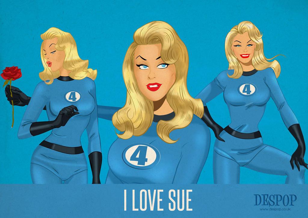 I Love Sue Storm