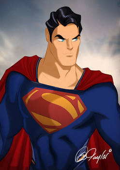 MAN OF STEEL Superman by Des Taylor
