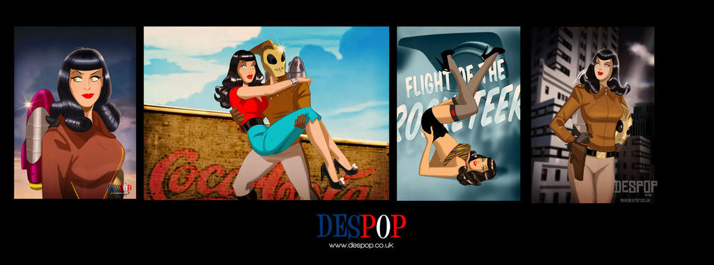 Betty The Rocketeer by DESPOP