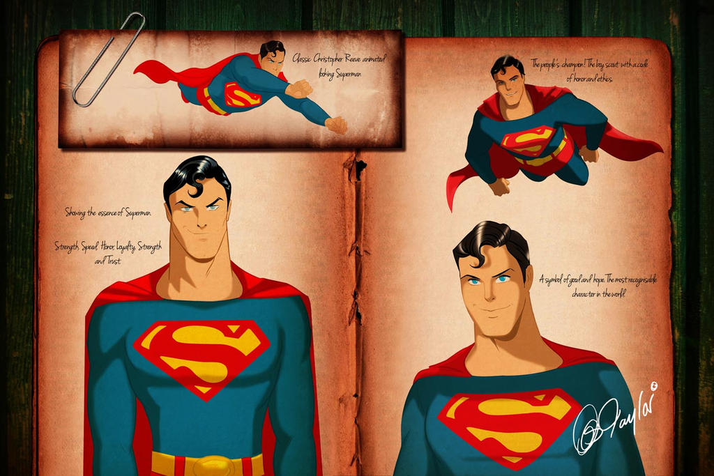 Chris Superman studies by DESPOP