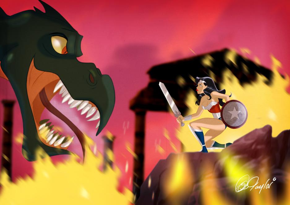 Amazon Warrior by DESPOP