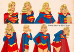 Visions of Supergirl by Des Taylor