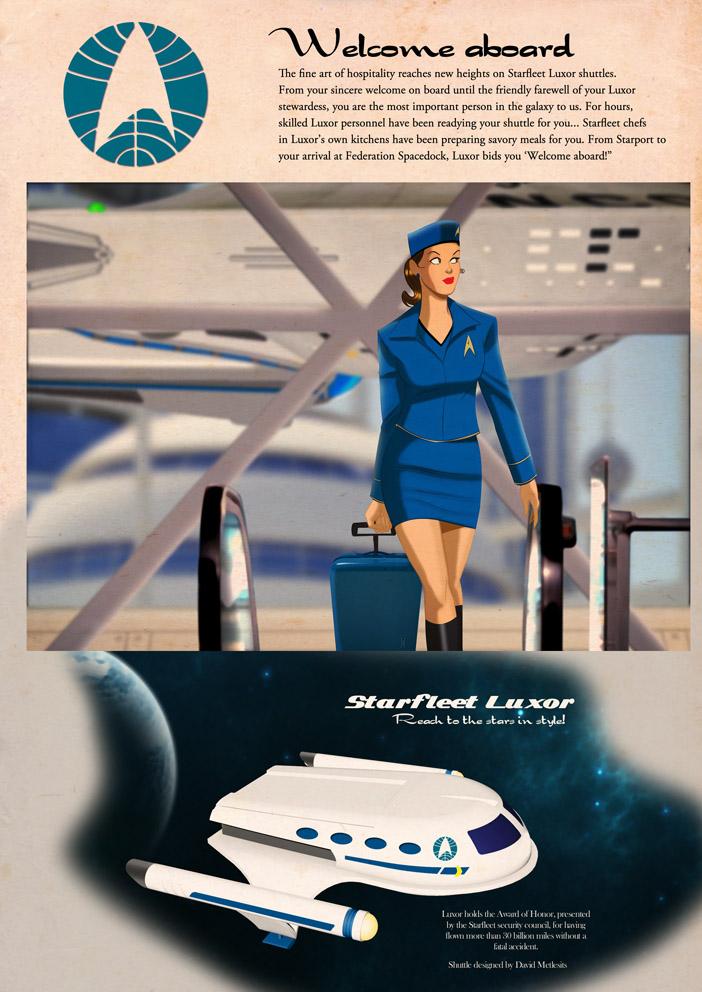 Starfleet Luxor- To the stars in style by DESPOP
