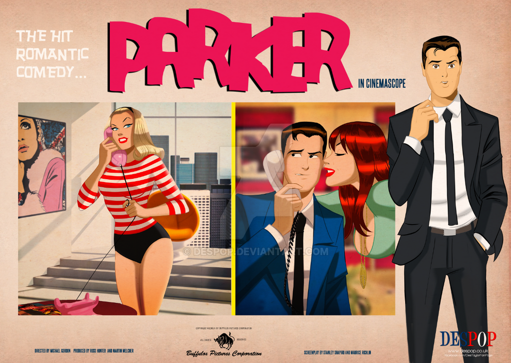 Peter Parker Gwen and Mary Jane in PARKER by DESPOP
