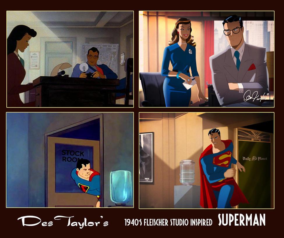 Des Taylor's Fleischer Superman by DESPOP