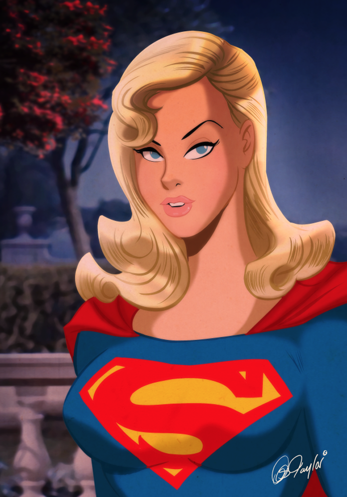 Classic Look Supergirl by DESPOP