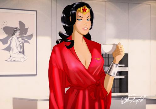 Good morning Wonder Woman