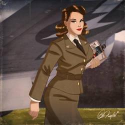 Agent Carter By Des Taylor