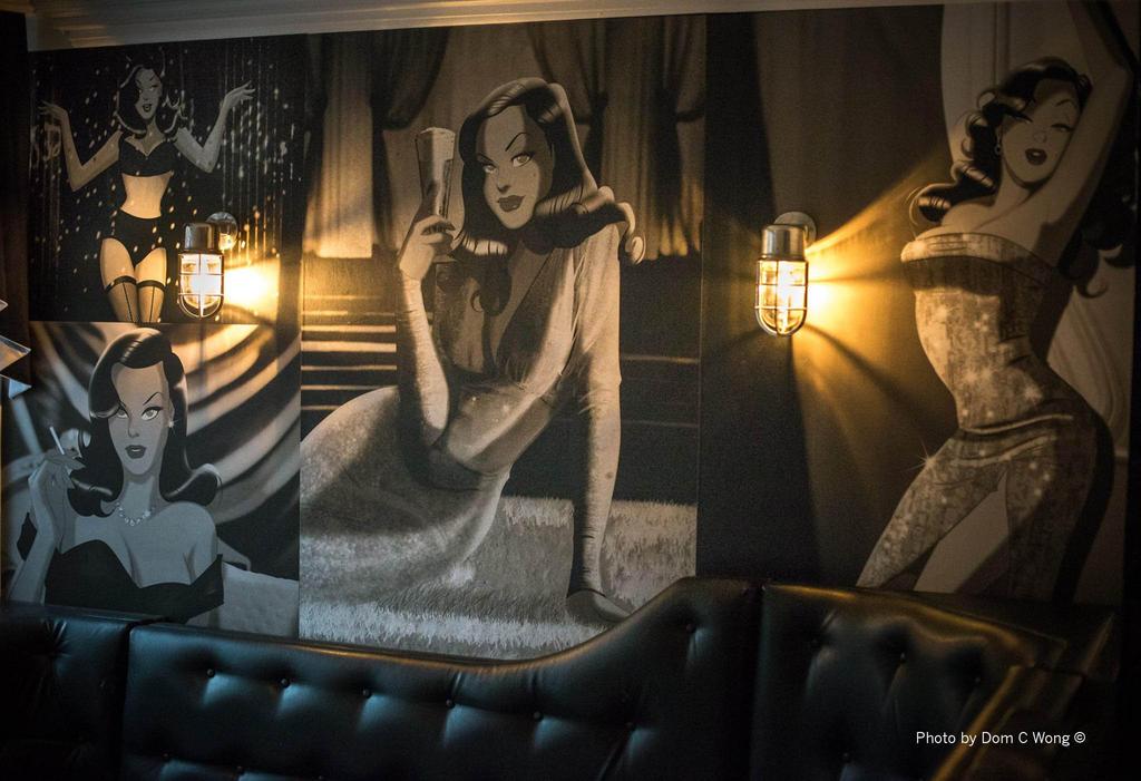 VESHA VALENTINE at Eighty3 Bar , Watford by DESPOP