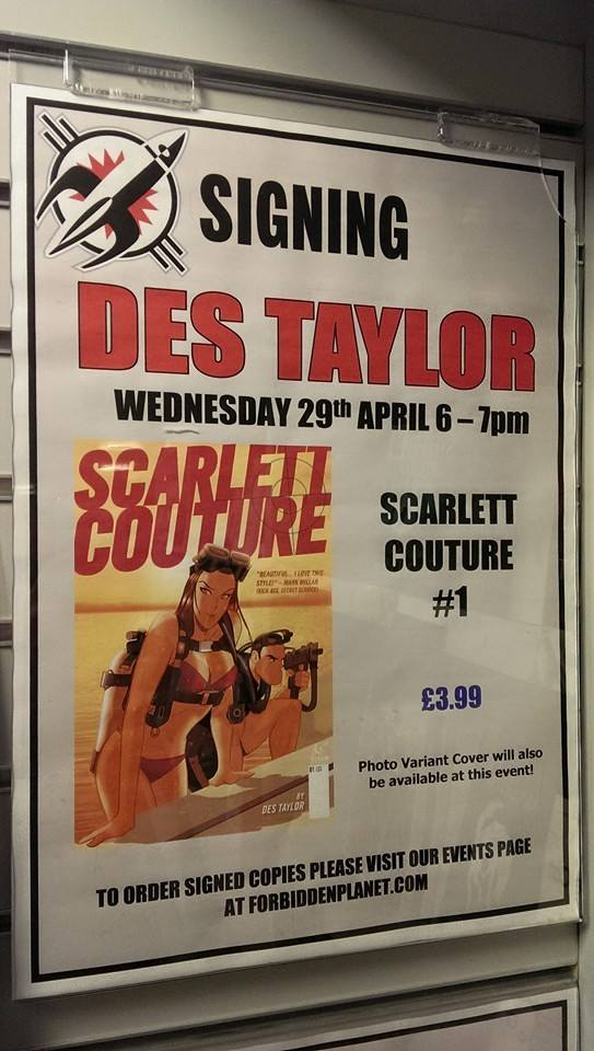 Scarlett Couture  shoots to your store April 2015! by DESPOP