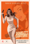 Retro SDCC Scarlett Poster