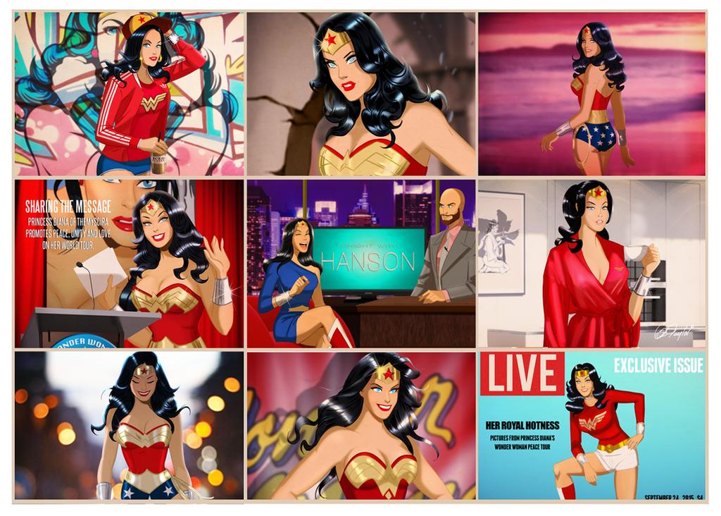 Wonder Woman - The Fabulous by Des Taylor by DESPOP