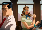 Lois and Clark Kent By Des Taylor