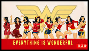 Wonder Woman Style by Des Taylor