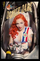 Stephanie Castro as Despop's -Danger Dame by DESPOP
