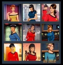 Trek Girls By Des Taylor