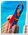 Superman Soars  GICLEE PRINT
