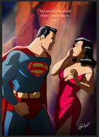 Superman meets Lois Lane 1938 by DESPOP